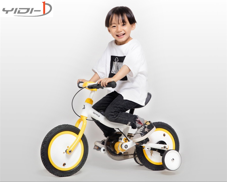 QICYCLE riding record XIAOMI children s bicycle 12 inch boy girl scooter two wheeled balance car