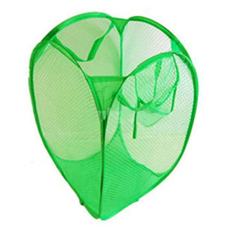 SZS Hot Foldable Pop up Washing Laundry Basket Bag Storage