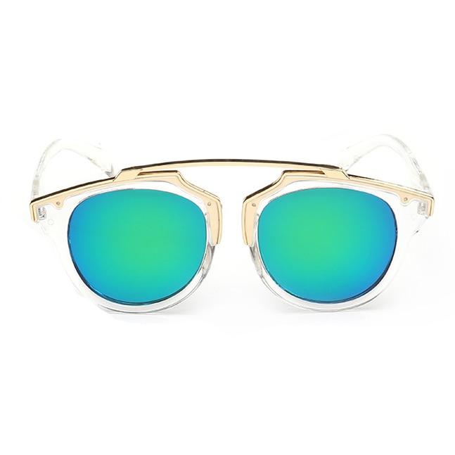 cf603e242f VictoryLip Women Small Face Clear Frame Mirror Sunglasses Classic Women Men  CatEye Lady Female Cheap Shades Femme Oculos de sol on Aliexpress.com