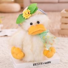 Talking Singing Sunshine Duck speaking plush toys Electronic stuffed animals for children girls boys baby Tiara