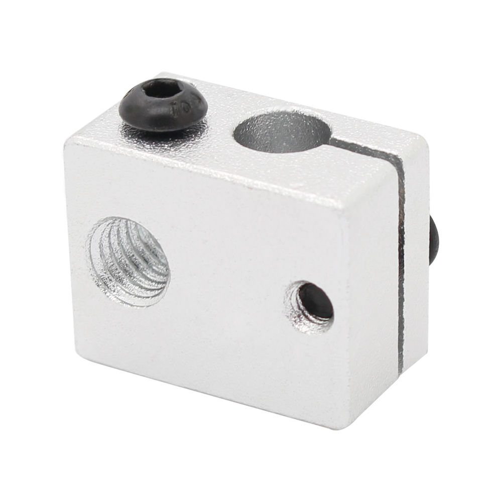 5 шт. алюминий тепла блок для В6 Джей-глава 3д-принтеры, принтера makerbot мк7/мк8 экструдер 20x16x11.5 мм