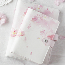 Yiwi Stationery Cherry Blossoms Spiral Notebook 2019 Agenda Organizer A6 Planner Personal Diary Book Office And School Supplies