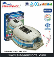 National Football League Dallas Cow boys Home Texas Stadium 3D Puzzle Model Paper
