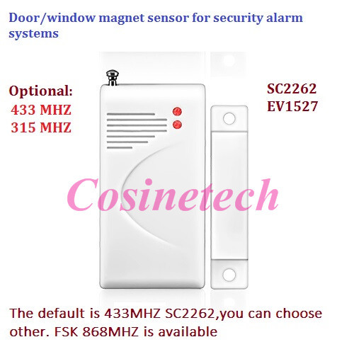 verdrahtet Magnetisch Tür Fenster Sensor Alarm Kontakt Alarmanlage Türsensor