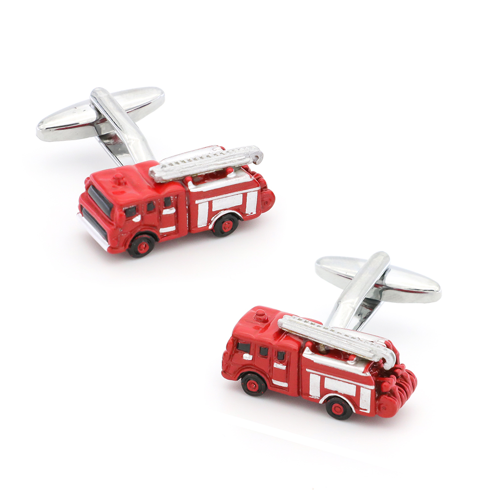 Free Shipping New Arrival Mens Fashion Cufflinks Red Color Novelty Fire Engine Design Cuff Links Wholesale&retailFree Shipping New Arrival Mens Fashion Cufflinks Red Color Novelty Fire Engine Design Cuff Links Wholesale&retail