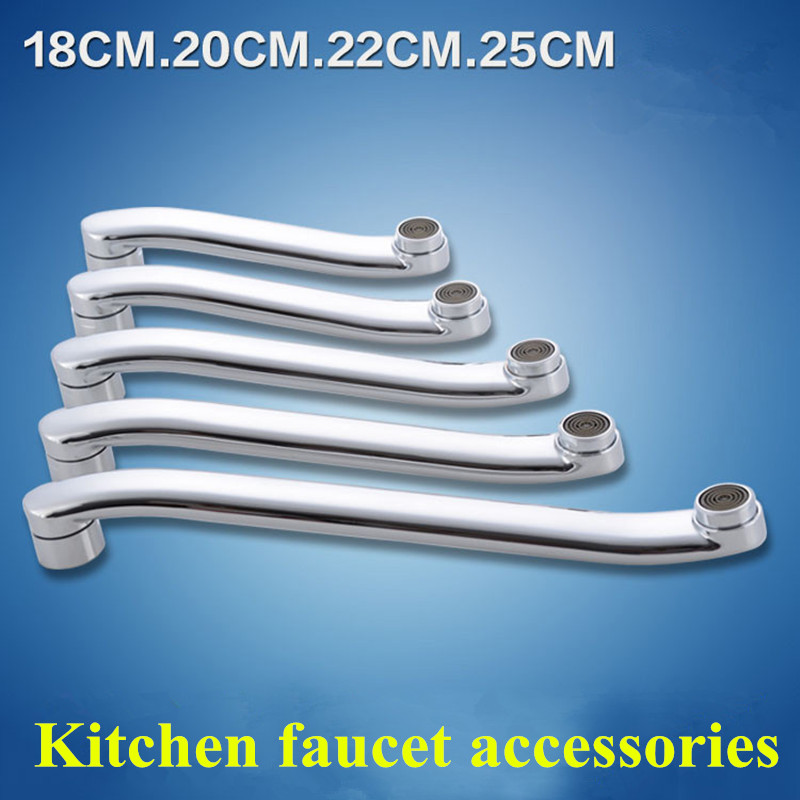 wall mounted kitchen faucet outlet pipe extended pipe