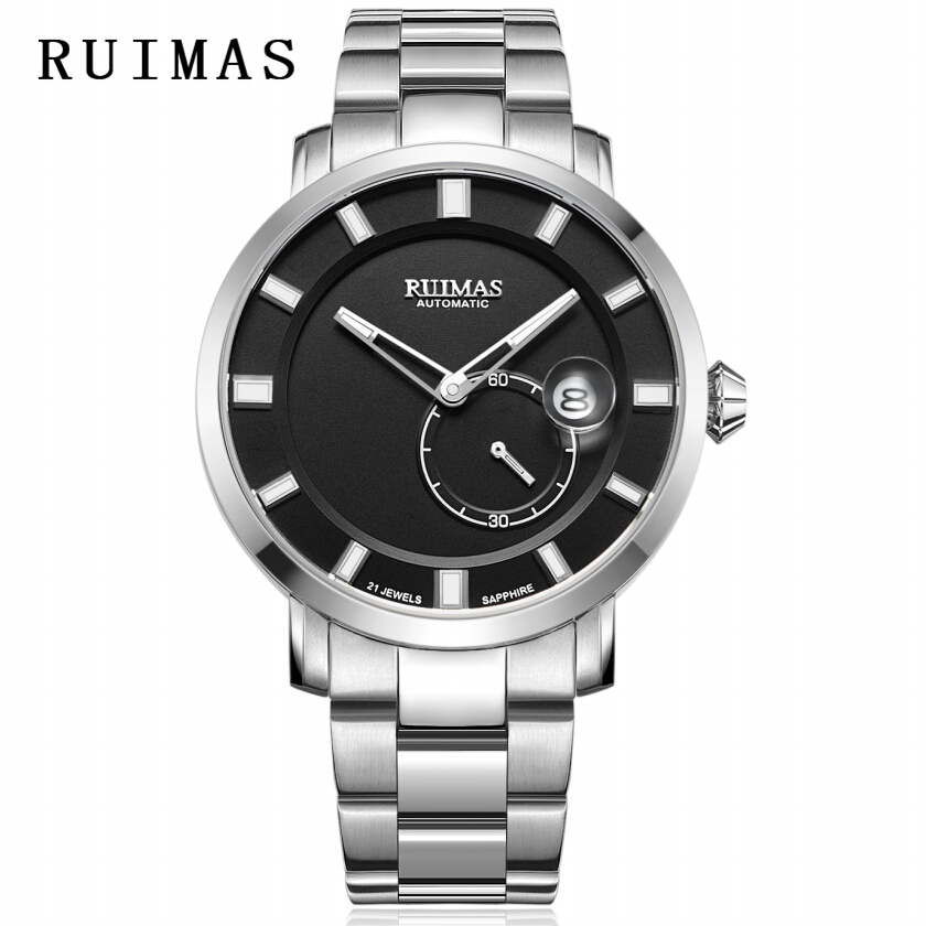 RUIMAS Luxury Quartz Men Watch Relogio Masculino Topp Märke Fashion - Herrklockor - Foto 1