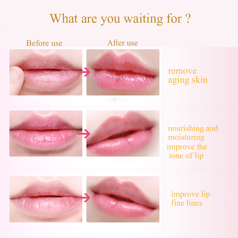 10 pçs máscaras labial feminino ouro cristal membrana labial colágeno umidade essência lábios plumper máscara para cuidados com os lábios cosméticos face care