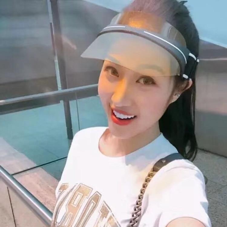 2018 New Fashion Summer Hats for Women sunglasses cap with sun glasses Visor Sunhat Pola ...