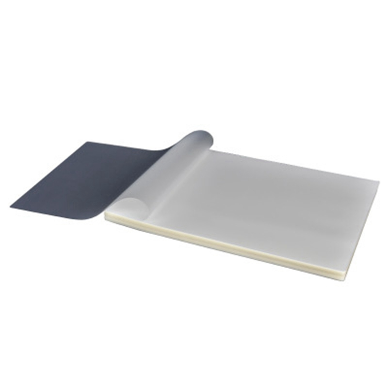cheapest 50PCS lot 50 mic A4 Thermal Laminating Film PET For Photo Files Card Picture Lamination