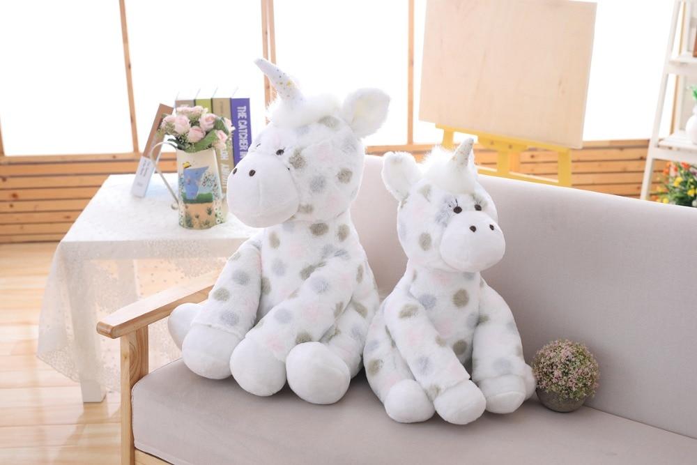 Clever 1pc 30/40/60cm Lovely Polka Dot Unicorn Elephant Owl Plush Toy Cute Baby Sleeping Appease Dolls Stuffed Toys Children Gift Toys Dolls & Stuffed Toys