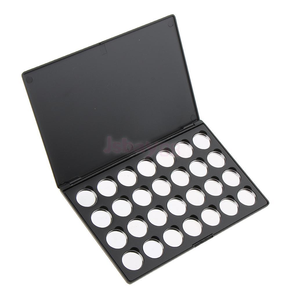 blush, organizador de maquiagem com 28 panelas redondas