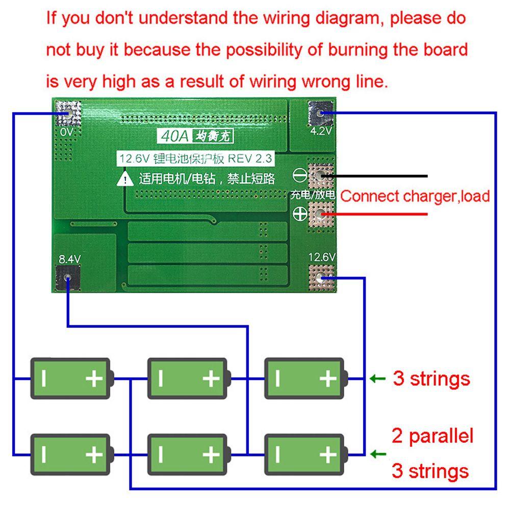 Intelligence Module3s 40a 111v 126v 18650 Lithium Battery Pcb Bms 12 String Wiring Diagram 0g1525424988 4 1r1525425009 9 7b1525425009 Hu 5s1525424988 2
