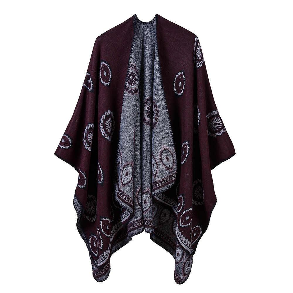 6 colori foulard femme Autunno/Inverno caldo scialle Sciarpa di modo per 50% ACRILICO e 50% POLIESTERE poncho 130*150 CM tippet scialle