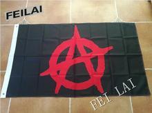 3X5FT ANARCHY ANONYMOUS Black Mason Freedom Flag  custom flag 100D Digital Print  Free Shipping