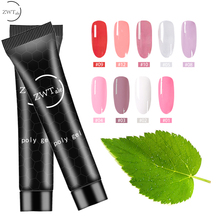 ZWTale Poly Gel Polish gel for nail extensions 15ML Nail Art UV hybrid Nails Manicure Varnishes Crystal polygel