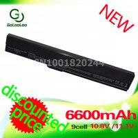 High Capacity 7800mAh Laptop Battery For ASUS K42 K52 A52 A52F A52J A31 K52 A32 K52