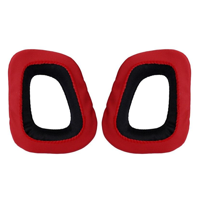 For Logitech Earpads for G230 G430 G930 G35 F450 Gaming Headset Black & Red BINMER Futural Digital F25
