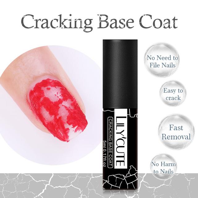 LILYCUTE Top Base Coat Set Soak Off UV Gel