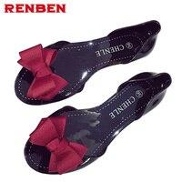 Summer Sandals Women S Shoes 2017 Sandals Flat Jelly Shoes Female Open Toe Shoe Beach Female