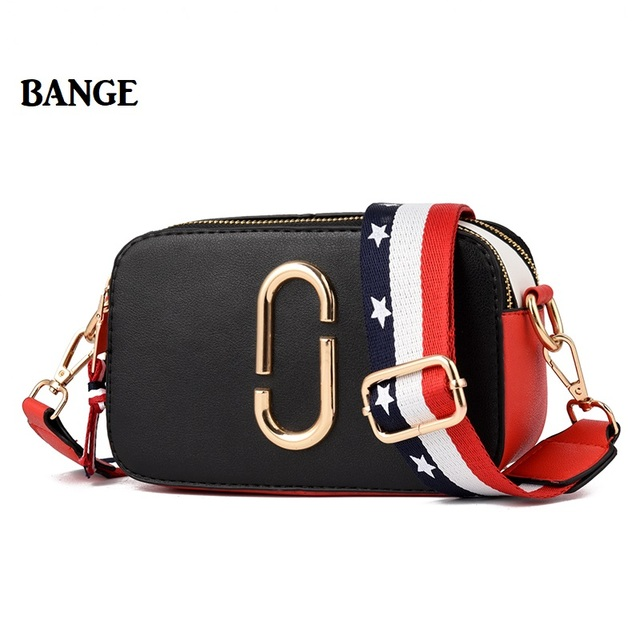 Bange Women Mini Solid Box Messenger Chest Bag Thick Shoulder Straps Bags Bolsos Mujer Mochila