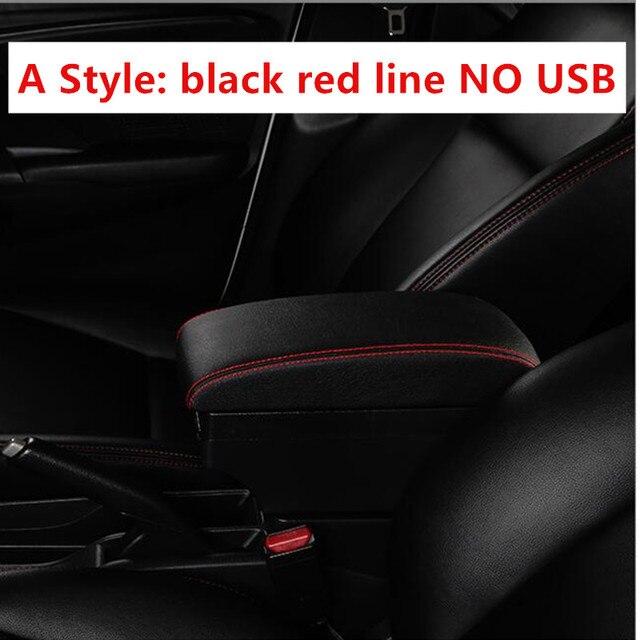 Accoudoirs voiture avec support USB Interface for Renault Clio 3 Captur Accoudoirs Contenu du coffret magasin central bo/îte avec Cendrier Coupe ABS Mat/ériel en cuir