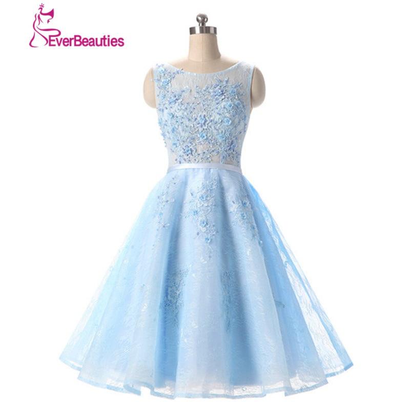short bridesmaid dress wedding guest dresses a line pleat wedding party dress light blue robe de. Black Bedroom Furniture Sets. Home Design Ideas