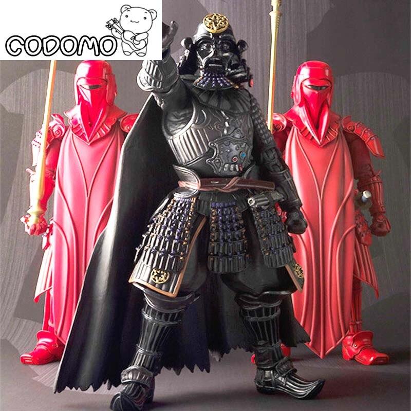 5 couleurs En Plastique Star War Action Figures Figurine Jeu Vinyle Bureau Jouets Darth Vader Storm Trooper De Noël Cadeau D'anniversaire Jouet
