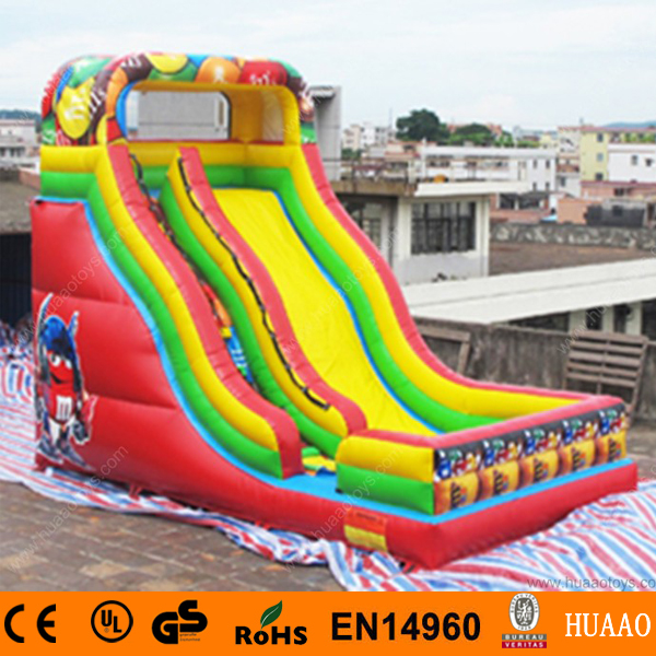 Free Shipping Commercial Giant Robot inflatable slide with free CE/UL air blower