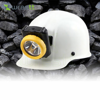 100units Lot KL5M C NEW MINING LIGHT LED Cordless Cap Lamp Miner S Light HIGH POWERFUL
