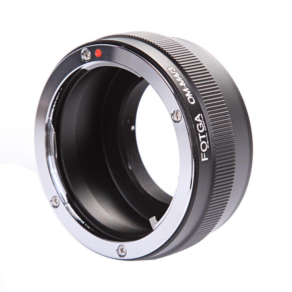 Para Olympus OM Lente Para Canon EOS EF 60D 6D DSLR Camera Adapter Ring 3rd