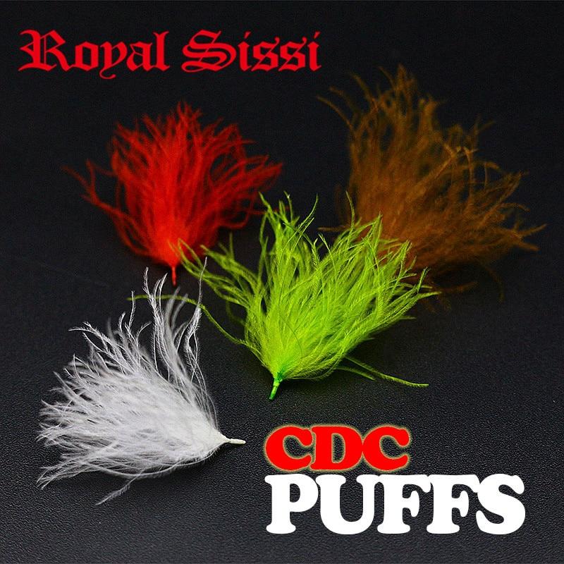 Royal Sissi 4packs / set CDC olajozó puffok kézzel kiválasztott - Halászat