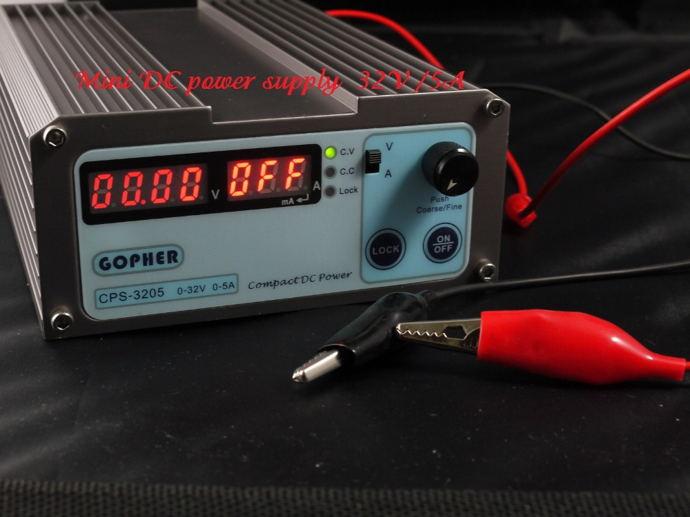 Free shipping 6pcs/lot mini Compact Digital Adjustable DC Power Supply OVP/OCP/OTP low power 32V5A 110V-230V 0.01V/0.01A 1 pc cps 3220 precision compact digital adjustable dc power supply ovp ocp otp low power 32v20a 220v 0 01v 0 01a