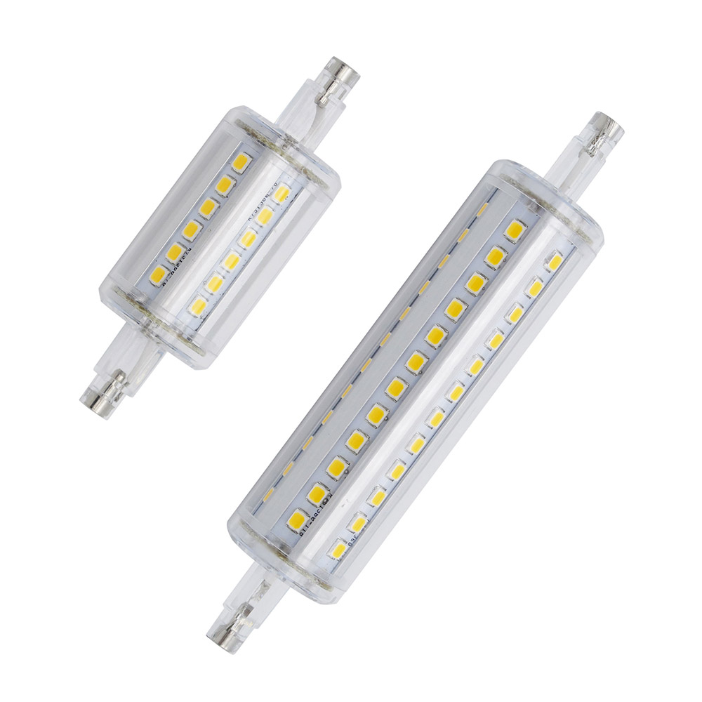 1pcs dimmable r7s led corn 36leds 78mm 118mm 72leds light 2835 smd bulb 5w 10w replace halogen. Black Bedroom Furniture Sets. Home Design Ideas