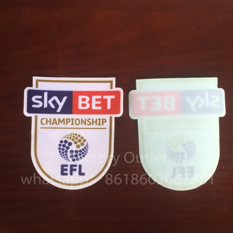 16-17 new England EFL cup championship patch English Football League soccer patch free ship ...