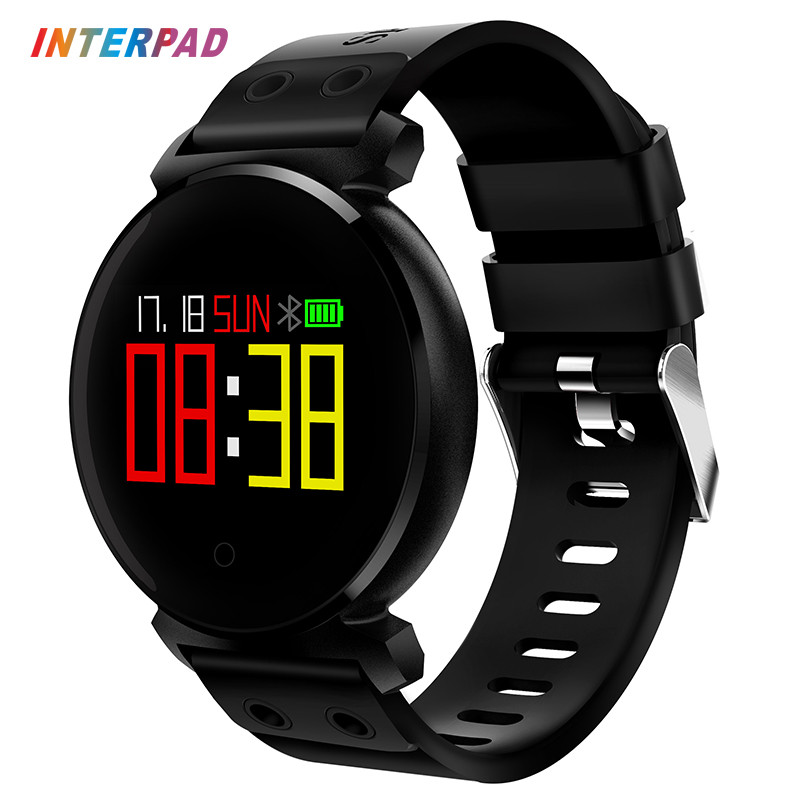 Interpad оригинальный <font><b>Bluetooth</b></font> <font><b>Smart</b></font> часы электронные наручные Часы спорт телефон часы SmartWatch для Xiaomi Samsung IPhone 8 8X
