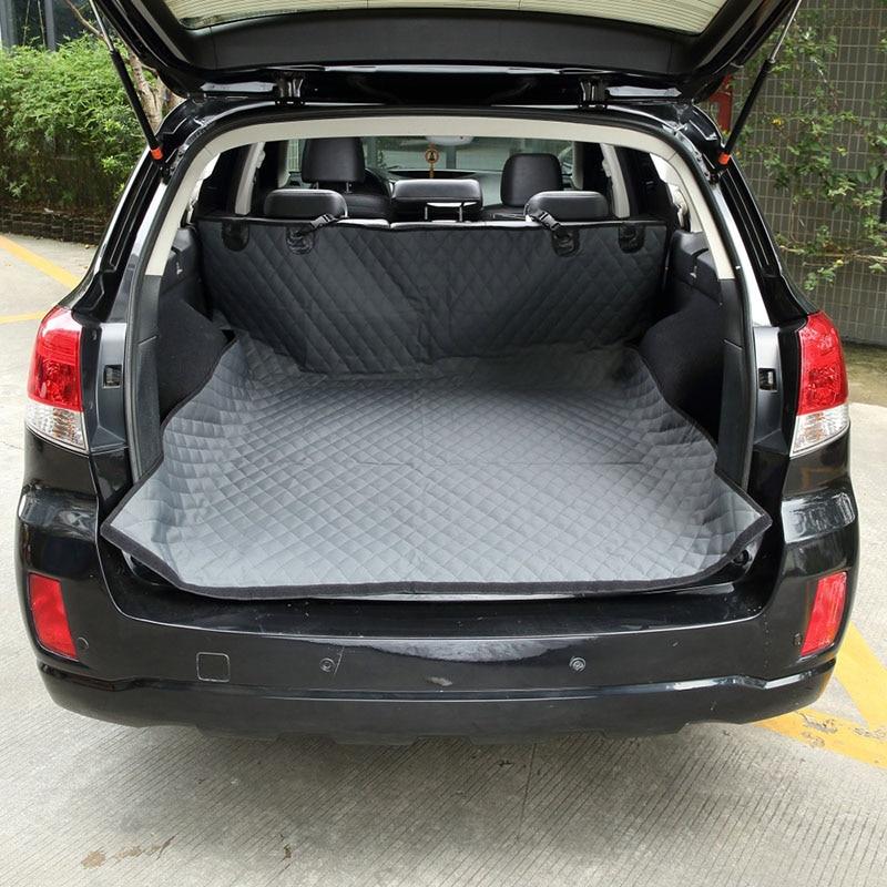 Waterproof Car Trunk Cover Pet Car Seat Cushion Protector Dog Car Trunk Mat Pets Barrier Nonslip Dog Car Carriers