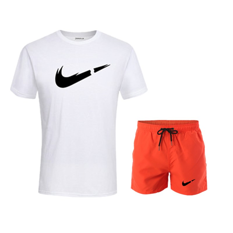 HTB1sYxqUhTpK1RjSZFMq6zG VXaa 2019 New Men Fashion Two Pieces Sets T Shirts+Shorts Suit Men Summer Tops Tees Fashion Tshirt High Quality men clothing