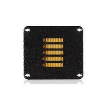 2 шт./лот аудиодрайвер для монитора «сделай сам», алюминиевый динамик для воздушного движения, преобразователь, трансформатор, ленточный динамик