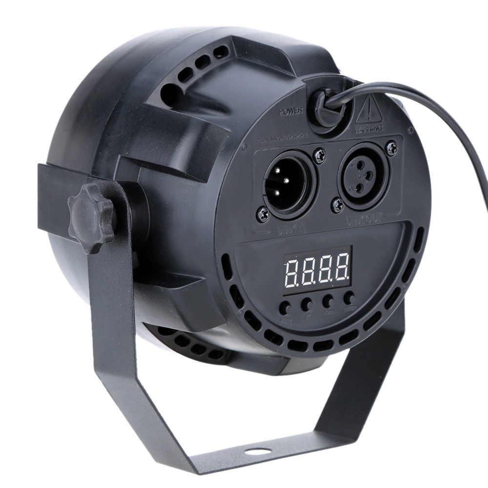 Lixada Dmx-512 сценический осветительный лазерный проектор Rgbw Led сценический мигающий свет стробоскоп 8 каналов вечерние дискотеки шоу 15 Вт Par луч сценический светильник