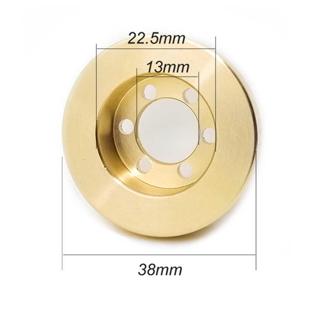 Interne Contragewicht Onderdelen Crawler Auto Velg Accessoires Messing Beadlock Balans RC Speelgoed 1.9 2.2 Inch Voor AXIALE SCX10