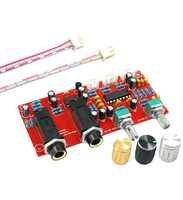 DIY PT2399 Digital Mikrofon Verstärkerplatine Karaoke Platte Reverb Vorverstärker Reverberator Suite Komponenten NE5532