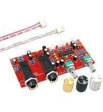 DIY PT2399 Digitale Microfoon Versterker Board Karaoke Plaat Reverb Voorversterker Reverberator Suite Componenten NE5532