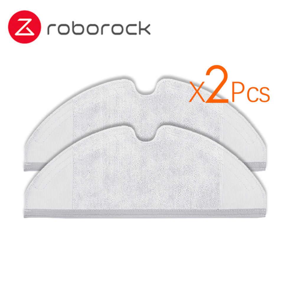 2 cái Thích Hợp cho Xiaomi Roborock Robot S50 S51 Máy Hút Bụi Phụ Tùng Các  Bộ Phận Bộ Dụng Cụ Lau Vải Thế Hệ 2 Khô Ướt lau Làm Sạch - Aliexpress