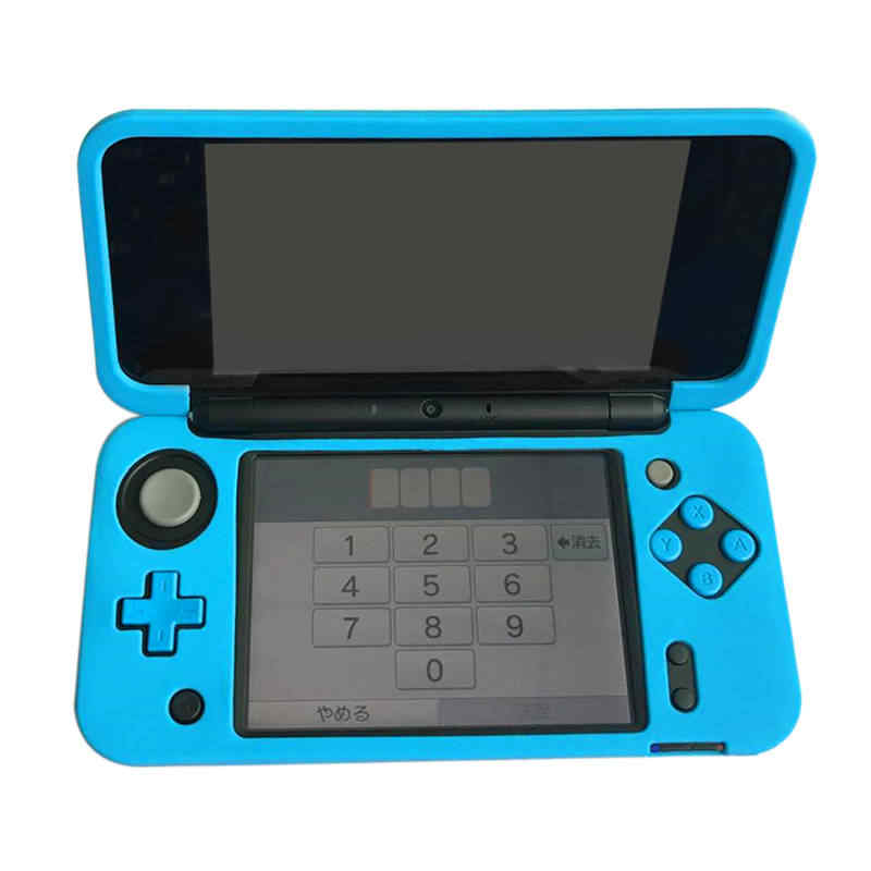Protective Cover Skins Silicone Gel Rubber Soft sleeve Case for Nintend NEW 2DS XL NEW 2DS LL Console Protector