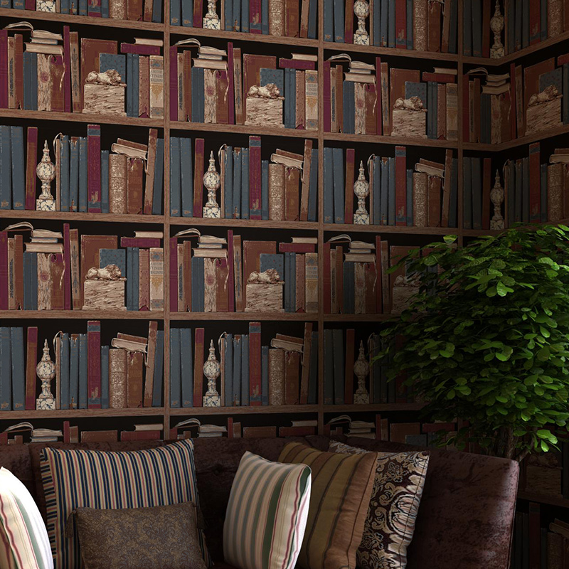 Online Buy Wholesale book wallpaper from China