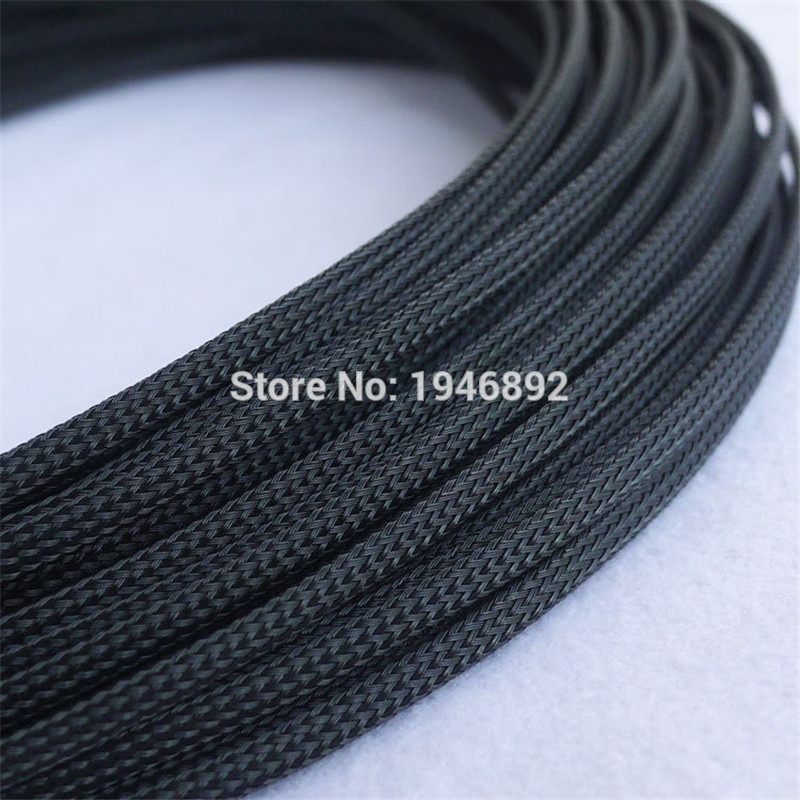 Cable Sleeving High Density Braided 4mm Diameter Expandable Sleeve 100m