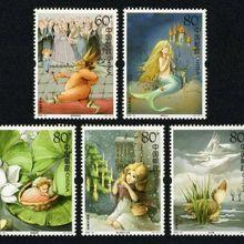 Для сбора китайской почтовой марки 2005-12 сказок Andersen's Новые 5 шт./компл. MNH