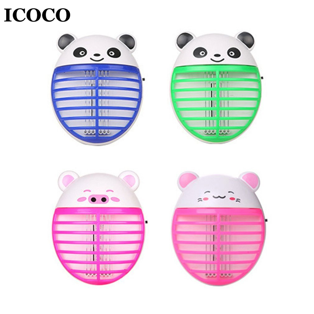 ICOCO Lovely Animal Shape LED Light Mosquito Killer Lamp Night Light Insects Flies Bug Zapper Killer For Home Bedroom Sale