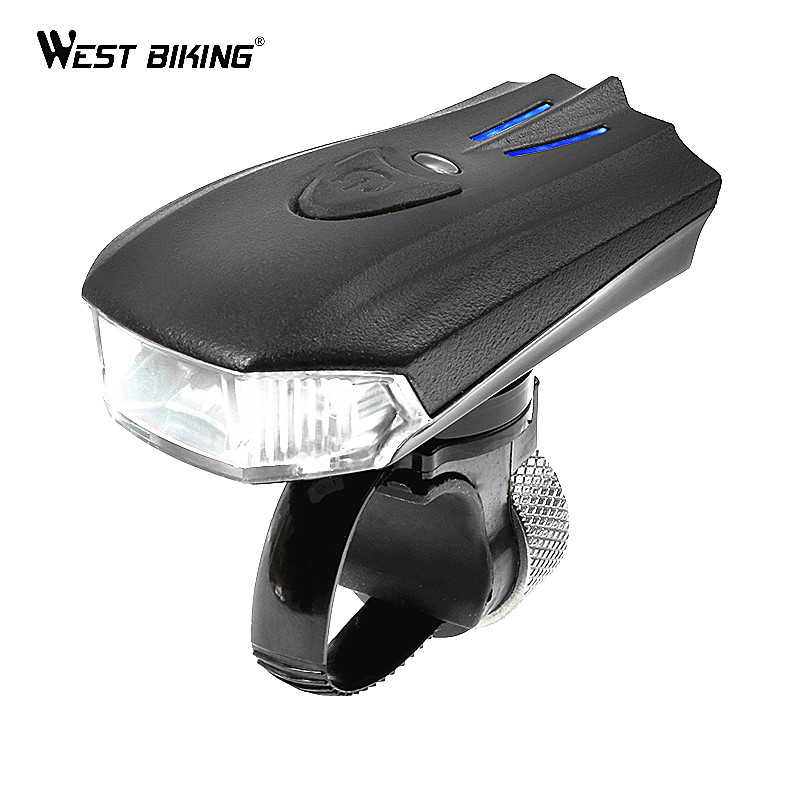 WEST BIKING Vibration Induction Riding MTB Cycling Bike Lights Mountain Bike Riding Flashlight Headlights USB Rechargeable west bay аток 10x42 телескоп